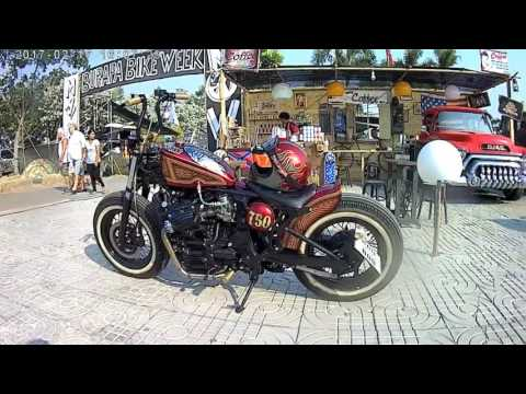 2017.02.17 PATTAYA BIKE WEEK TOUR BURAPA Thailand Тайланд Паттайя HD