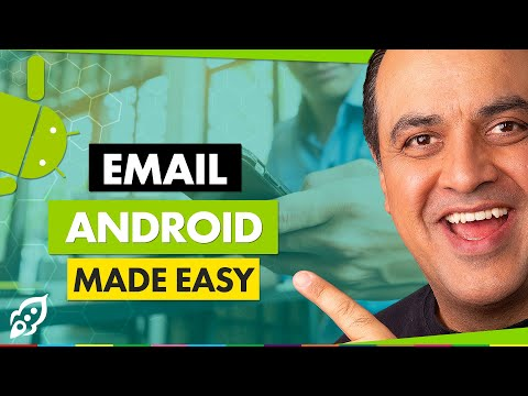 How To Setup Email On Android Phone | Business Email Address Android