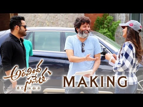 Aravindha Sametha Movie Making | Jr. NTR, Pooja Hegde | Trivikram