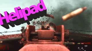 "COD WAW : Custom Zombies ""HeliPad"" i was just on a PAD."