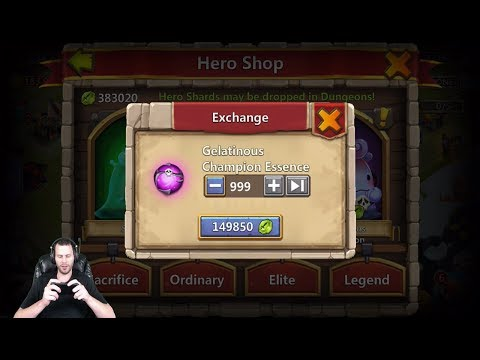 JT's Free 2 Play Full Account Review Explaining Altar Castle Clash