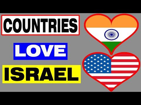 🇮🇱Top 10 Countries That Love Israel🇮🇱