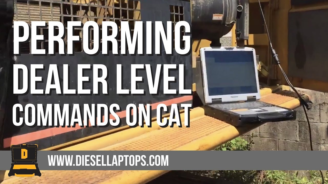 Performing dealer level commands on CAT equipment without CAT Software