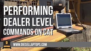 Download Video Performing dealer level commands on CAT equipment without CAT Software MP3 3GP MP4
