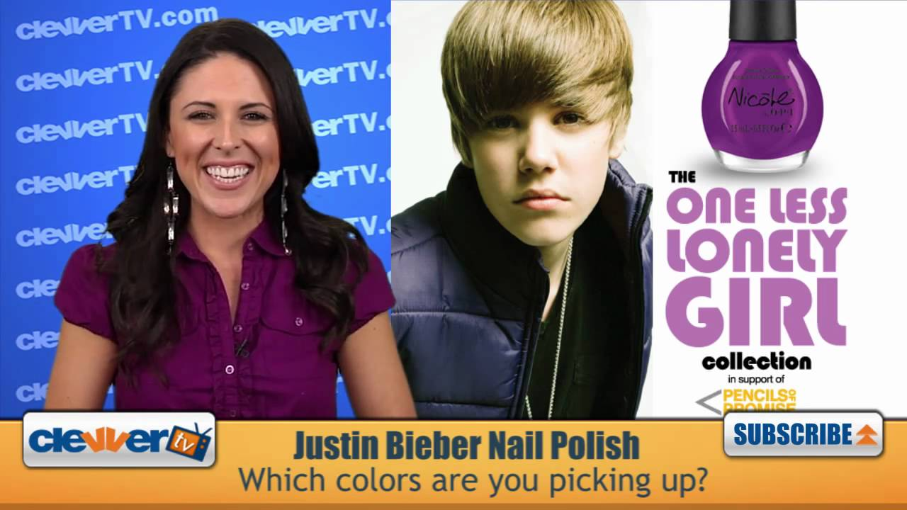 New Justin Bieber OPI Nail Polish Colors Debut - YouTube