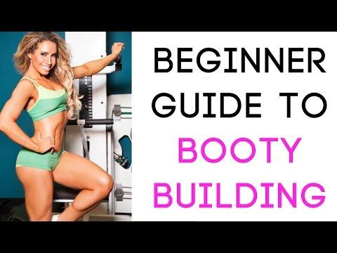 Beginner tutorial on leg exercises! Build that Booty!