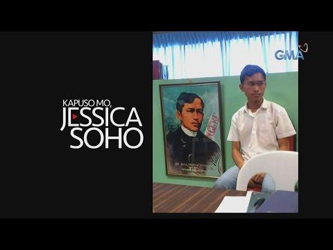 Kapuso Mo, Jessica Soho: Look-alike ko si Jose Rizal!
