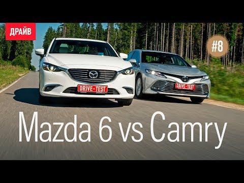 Toyota Camry 2018 #8 — Камри vs Mazda 6