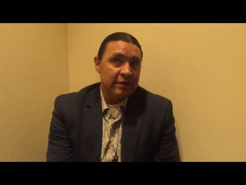 Standing Rock Sioux Tribe member Chase Iron Eyes