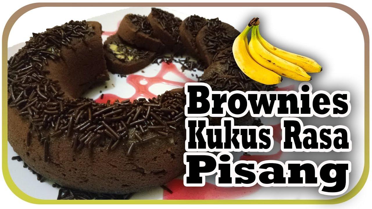 Brownies Kukus Pisang: CARA MEMBUAT BROWNIES KUKUS RASA PISANG