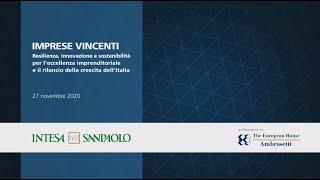 Intesa Sanpaolo presenta l'evento finale di Imprese Vincenti