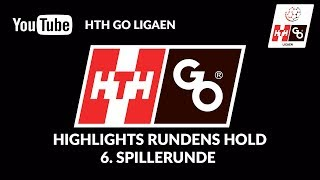 Highlights Rundens Hold 6. Spillerunde Hth Go Ligaen