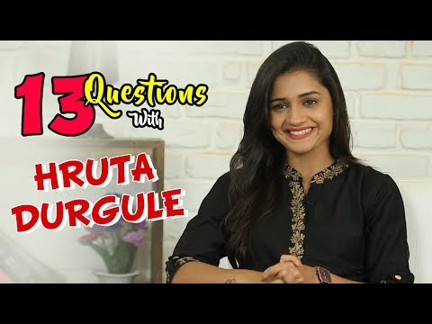 13 Questions With Hruta Durgule | Marathi Actress | Phulpakhru Tv Serial | Zee Yuva