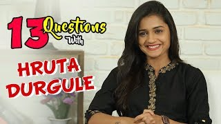 13 Questions With Hruta Durgule | Marathi Actress | Phulpakhru Tv Serial | Zee Yuva