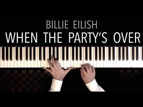 Billie Eilish - when the party&39;s over  Paul Hankinson Piano Cover deep & hypnotic