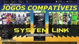 SYSTEM LINK TODOS JOGOS COMPATÍVEIS - XBOX 360 RGH