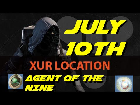 Destiny quot xurs location quot july 10th 12th what is xur selling week