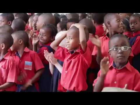 DGI Verdensholdet bevæger SOS Børnebyer i Tanzania