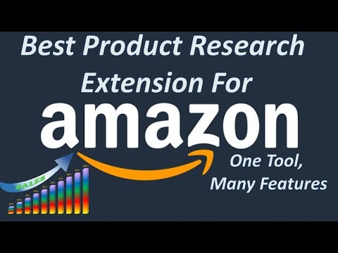 Best Product Research Extension Tool For Amazon