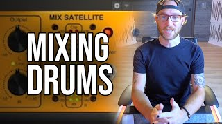 How To Mix Drums with 2x Diamond Engineer Scott Banks