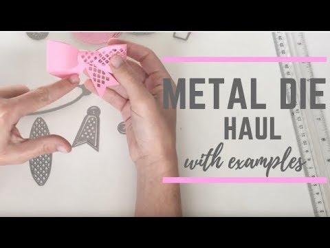 Metal dye HAUL-crafty haul