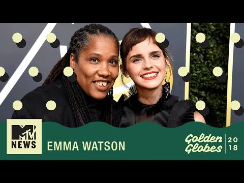 Emma Watson On TimesUp and Jude Law As A Young Dumbledore  Golden Globes 2018