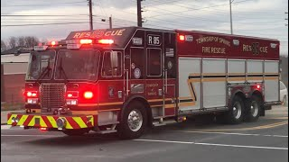 Township of Spring Fire Rescue Services Rescue 85 Responding 1/16/18