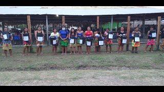 Llevamos agua potable para la comunidad Embera Wounaan de Arimae en Darien 2020