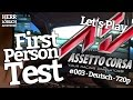Assetto Corsa + Driving Force GT #003 / Vallelunga / BMW Z4 GT3 / 1:39:314 [HD?] - First Person Test