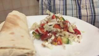 Салат с тунцом и капустой| Подсмотрено в Израиле