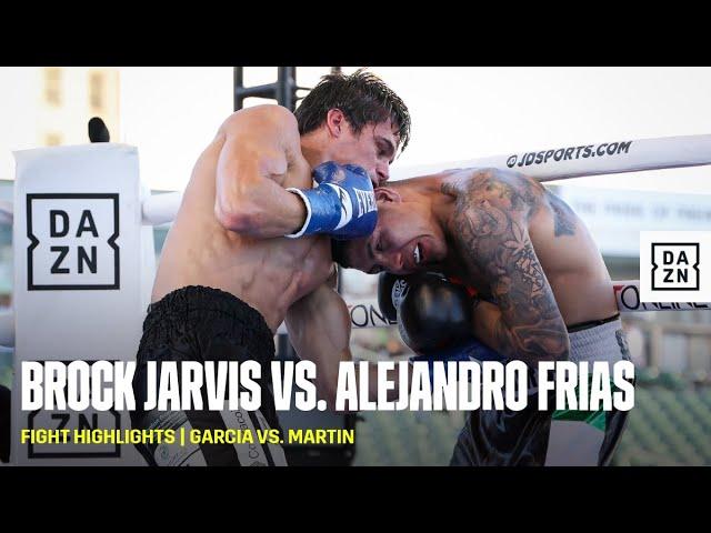FIGHT HIGHLIGHTS   Brock Jarvis vs. Alejandro Frias