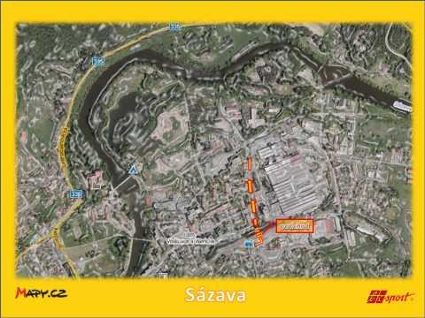 Mapy sázava