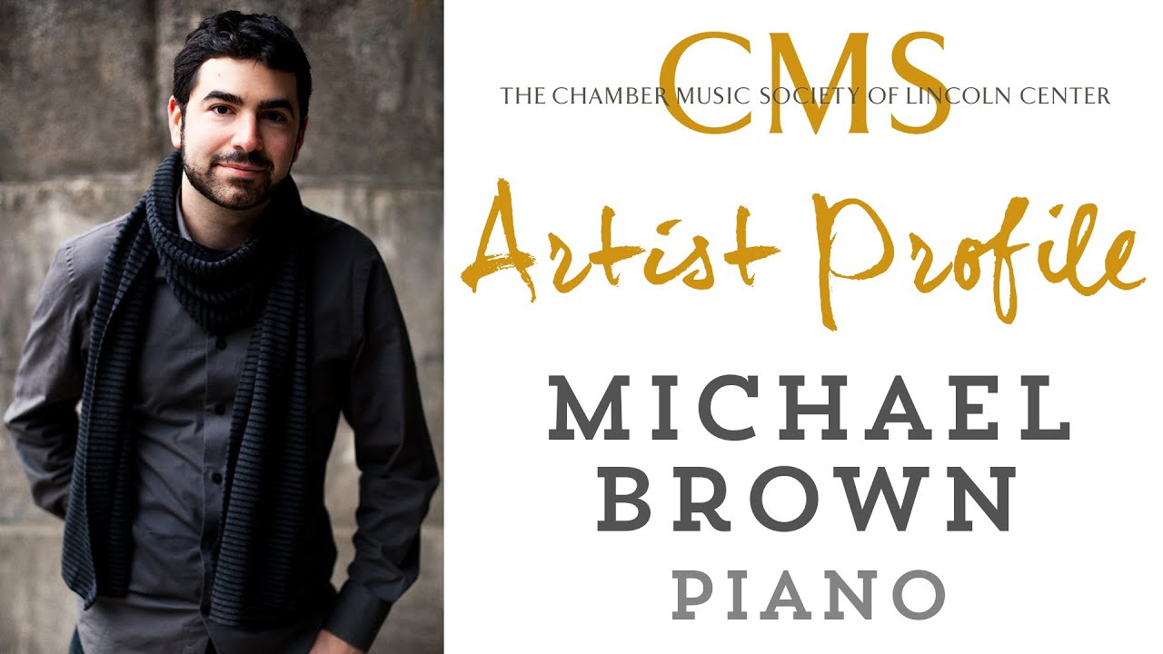 Michael Brown Artist Profile - April 2016