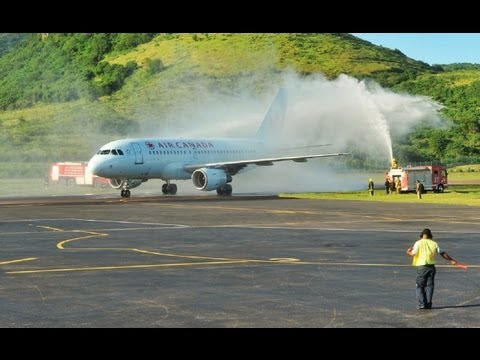 Air Canada Now flies to St Kitts (HD 1080p)