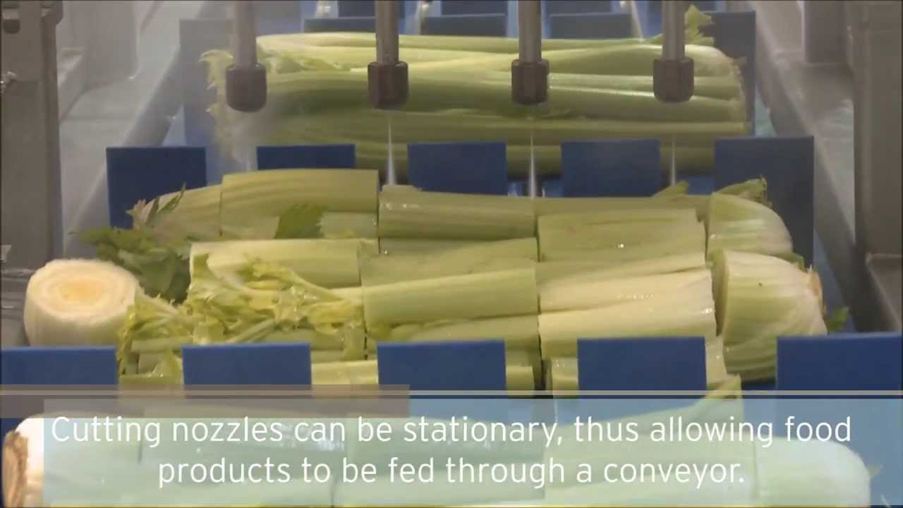 Advantages of Waterjet Cutting of Fresh Food and Produce