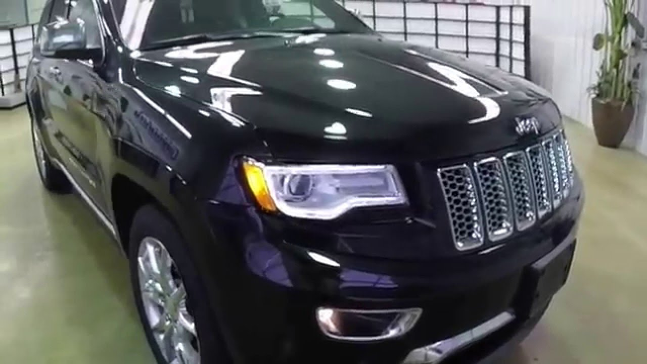 Jeep Grand Cherokee Summit Black Full Review Youtube