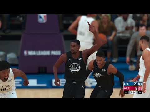 Nba 2k18 All-stars Game East All-stars Vs West All-stars