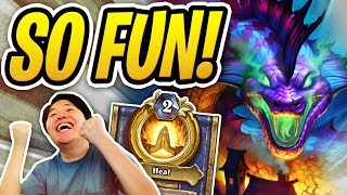 ODD PRIEST IS INSANELY FUN! | Auto Complete Odd Priest | Rastakhan's Rumble | Hearthstone