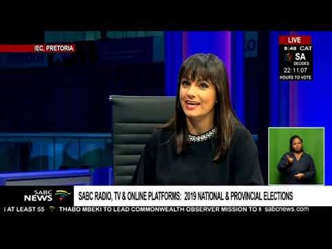 SABC Radio, TV & Online platforms:  2019 national & provincial elections