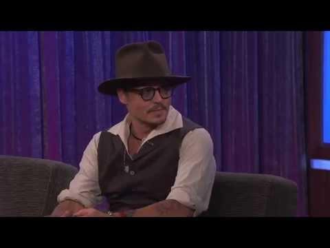 Johnny Depp on Jimmy Kimmel Live PART 1