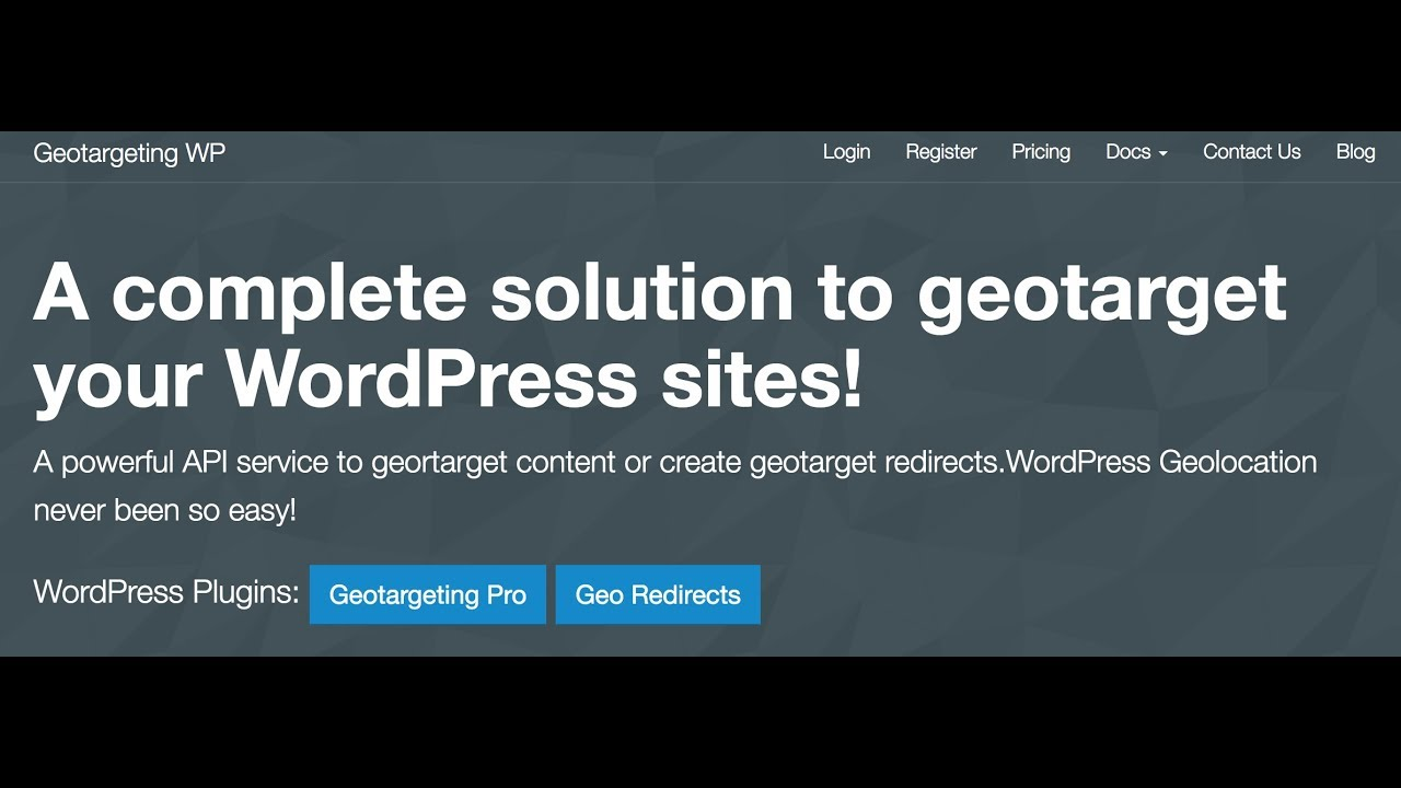 Geotargeting WP Brings Powerful Geolocation Service to WordPress