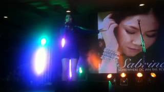 Sabrina Orial - Saranghae (Jay Park Live in Manila at Lucky Chinatown Mall)