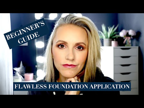 HOW TO get a Flawless Base and Avoid Caky Foundation - Over 35 Skin