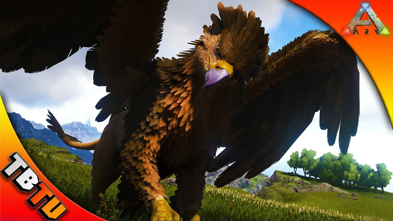 Griffin taming with jimbob tame griffins like a pro ark for Plante y ark ragnarok