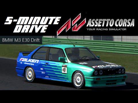 BMW e30 drift assetto corsa