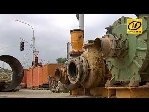 Новый ливневый коллектор в Минске заработает на полную мощность в июне