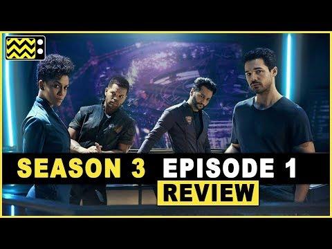 The Expanse Season 3 Episode 1  w Cas Anvar  AfterBuzz TV