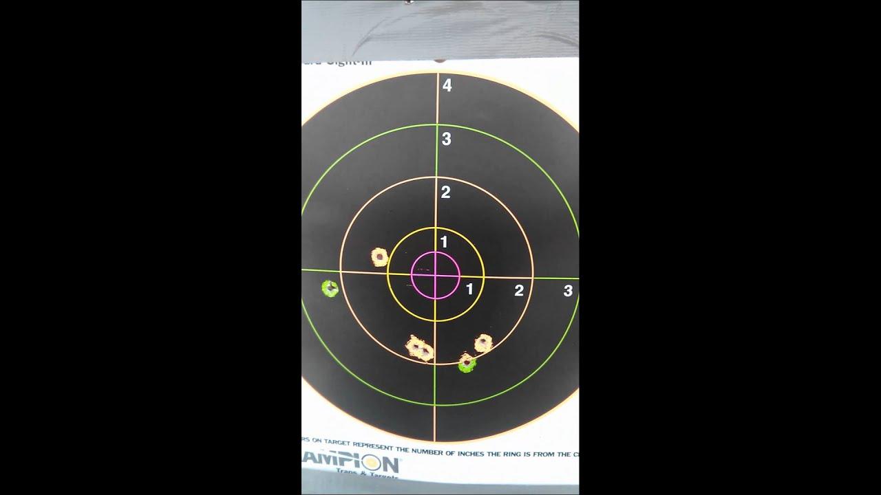 Target shot results