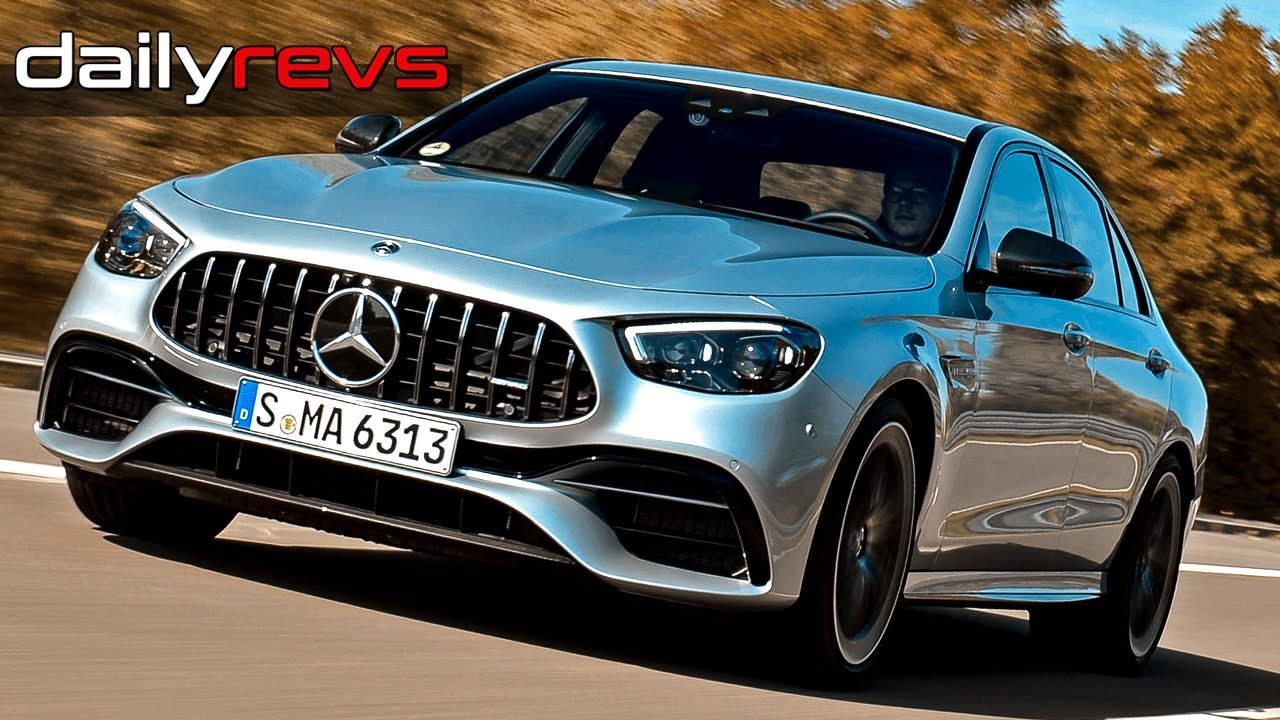 2021 Mercedes Benz E63 S AMG Sedan | High Tech Silver | Driving & Design