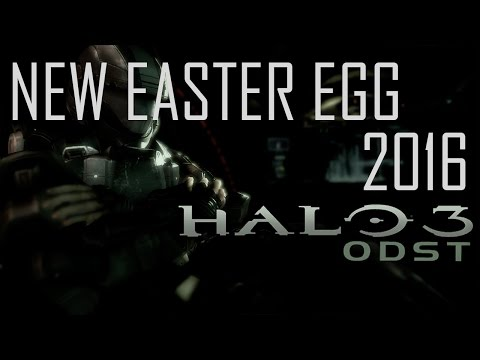 Halo 3: ODST - New Easter Egg 2016 Tutorial